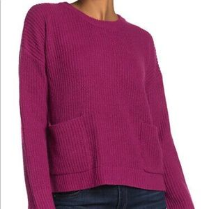 NWT MELLODAY Two Pocket Pullover Sweater